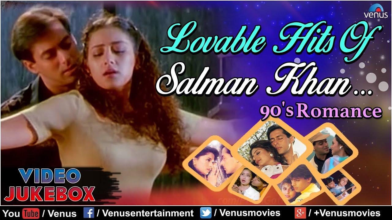 Lovable Hits Of Salman Khan : 90's Romance || Video Jukebox