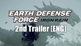 EARTH DEFENSE FORCE: IRON RAIN 2nd Trailer