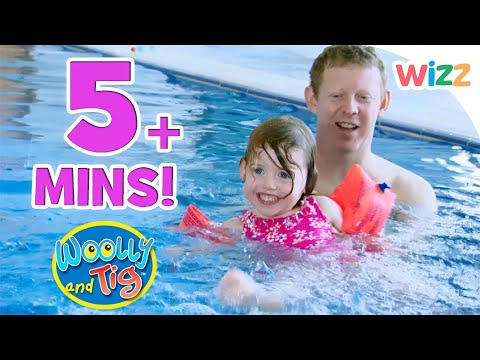 Thumbnail: Woolly and Tig - Miss Lottie's Dance Class | Learning to Swim