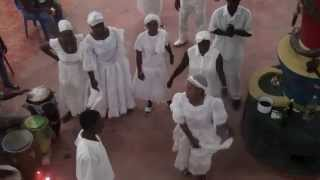 mambo carline entre  kanzo/haitian vodou initiation  in DR  l 321-226-8316