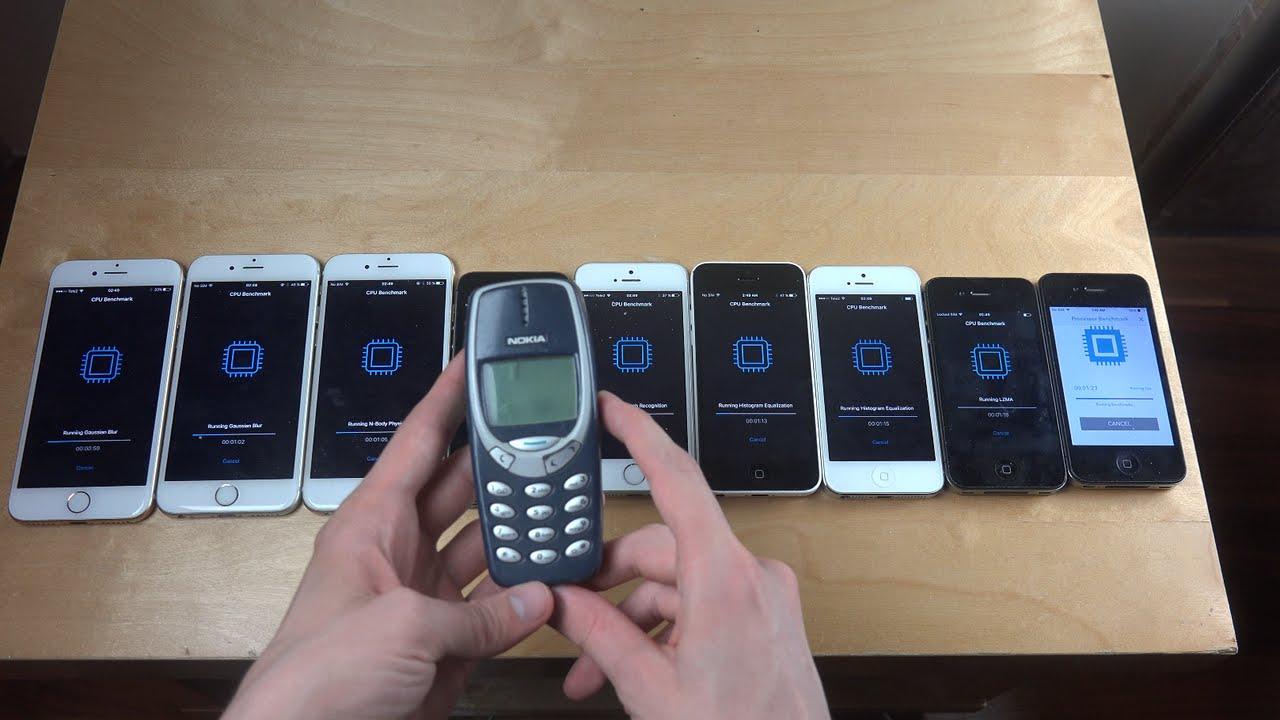iphone 5s vs 6s vs 7