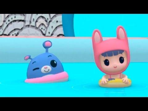 Мультики Руби и Йо-Йо - В бассейне