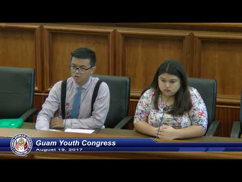 Guam Youth Congress - August 19, 2017