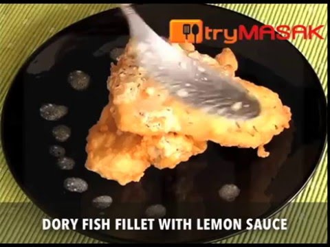 Dory Fish Fillet With Lemon Sauce