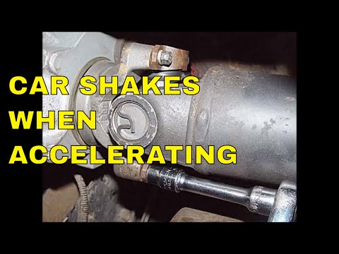 Car Shakes When Accelerating