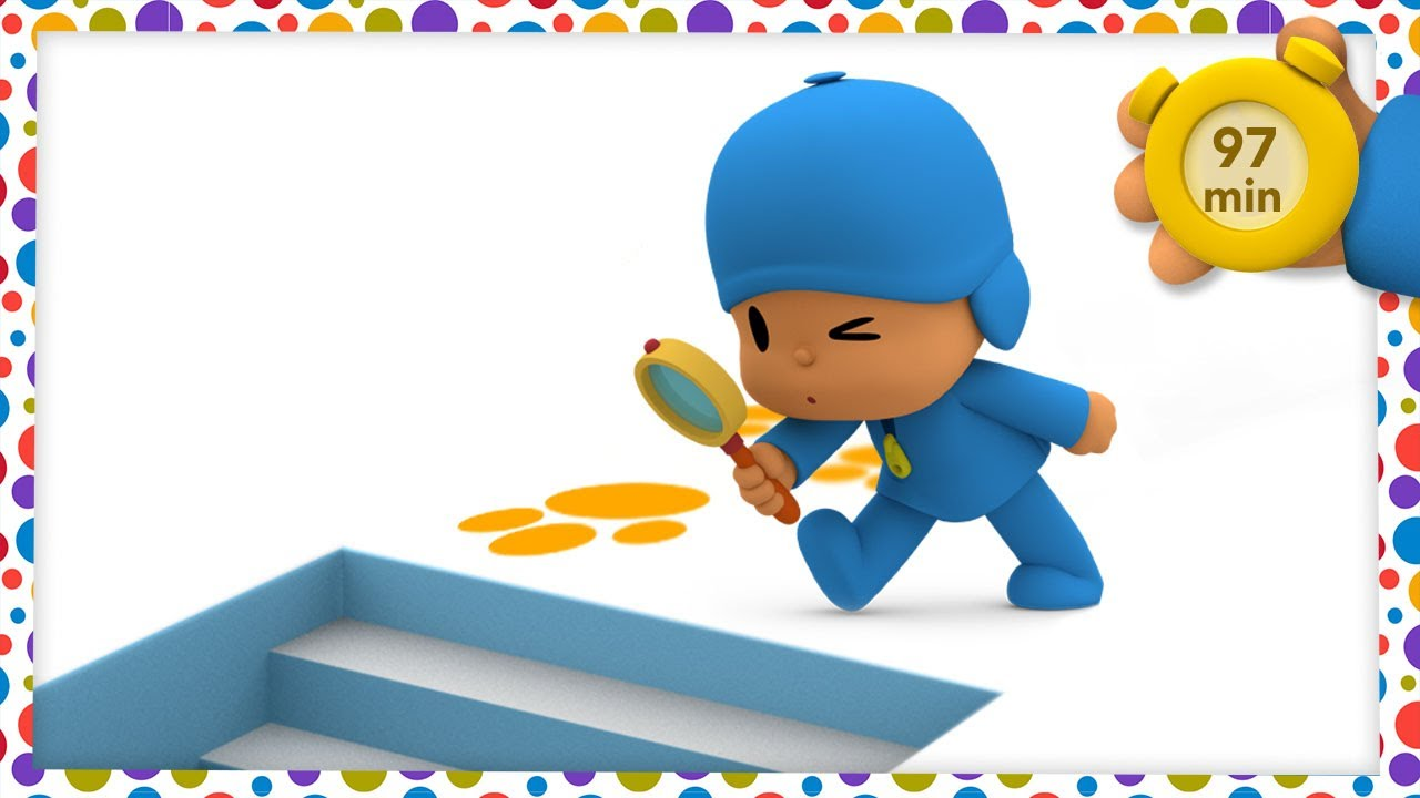 🔎 POCOYO AND NINA - Hidden Objects [97 minutes] | ANIMATED CARTOON for Children | FULL episodes