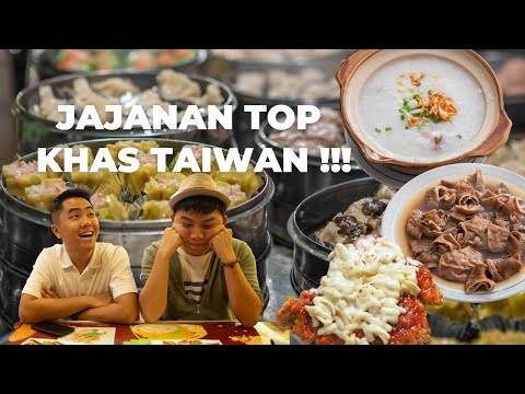 People Trying Taiwanese Food in Medan