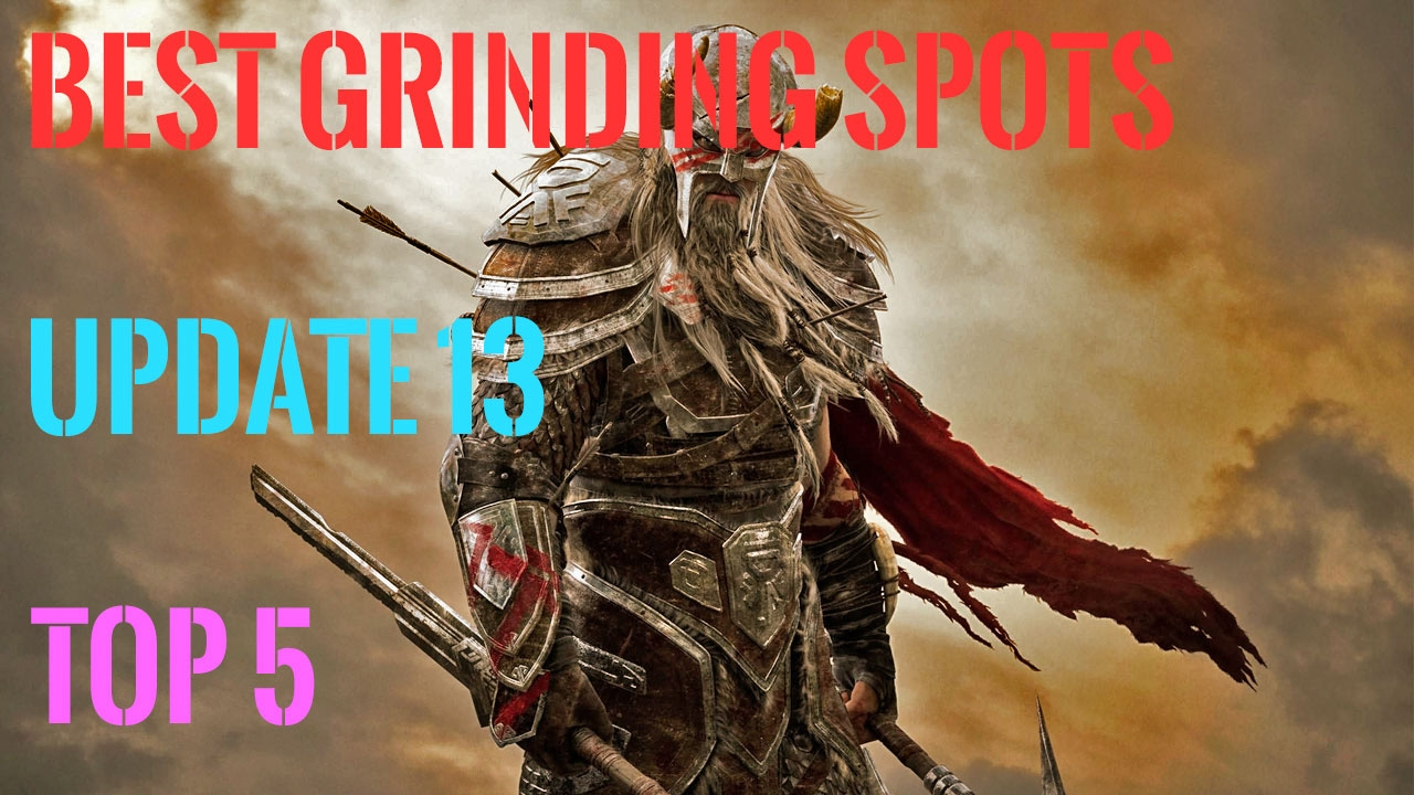 ESO, top 5 best grinding locations