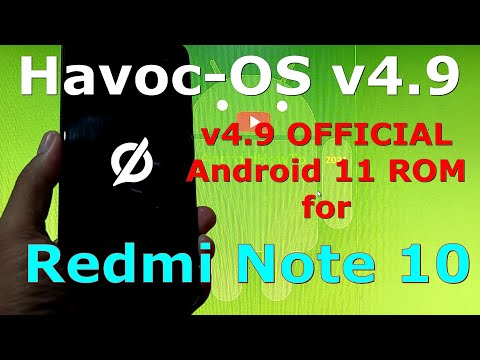 Havoc-OS v4.9 OFFICIAL for Redmi Note 10 ( Mojito / Sunny ) Android 11