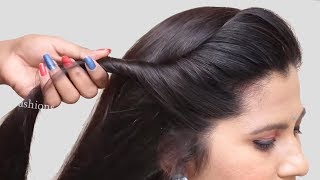 quick & most beautiful hairstyles for long hair girls || simple hairstyles | new juda