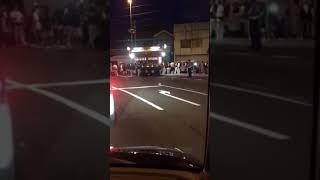 20180714-2006 鋸南町勝山地区合同祭礼 緊急車両通過 thumbnail