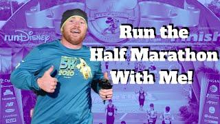 🔴Live: runDisney Half Marathon at Walt Disney World