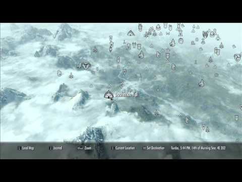 Skyrim Orc Stronghold Locations Youtube