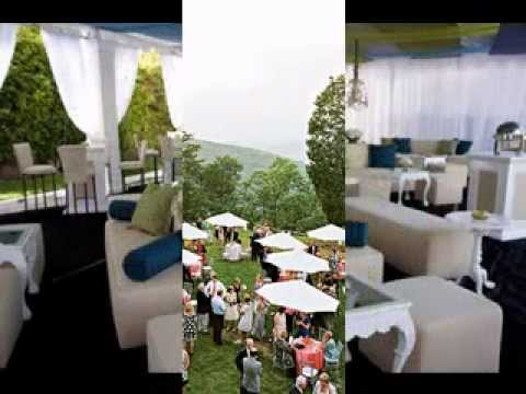 Cocktail wedding reception decorations ideas youtube for Outdoor cocktail party decorating ideas