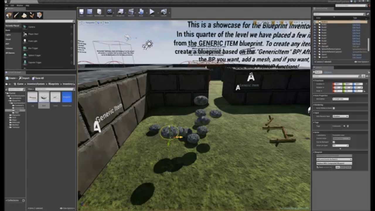 Blueprint inventory system unreal engine forums i would like to introduce you to a blueprint inventory system which is now released in ue4s marketplace the following is a link to our youtube quick malvernweather Image collections