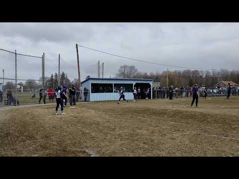 Erskine Academy at Oceanside softball