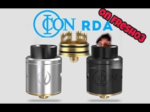 Icon RDA Review and Build (DIY E-Liquid Recipe too!)