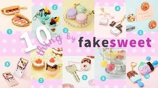 Looks Real!DIY 10  Thing by Fake sweets リアルでかわいい!フェイクスイーツアクセサリー10選