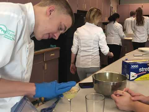 Cooking with Girl Scout Cookies at Standley Lake High School