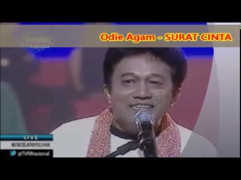 (1,055)  Odie Agam :  SURAT CINTA --  Lagu Tahun 1980 An