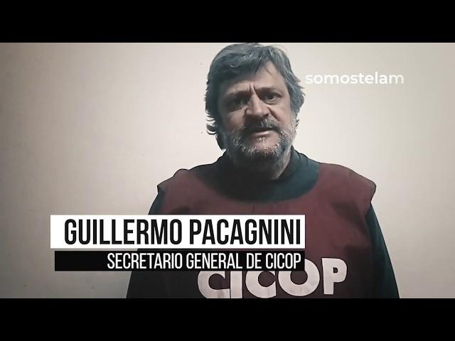Marcha por Télam: Guillermo Pacagnini invita