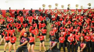 WSSU Ram Madness: Red Sea of Sound Band Playing Get Up