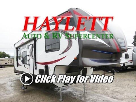 2014 Livin Lite Quicksilver 32 Toy Hauler Fifth Wheel
