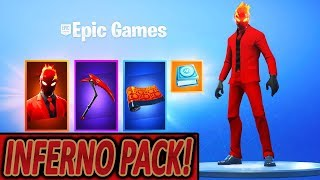 BALD NEW INFERNO PACK 😈🔥 | NOW NEW PIRATE FEVER EVENT ☠️ | Fortnite Battle Royale