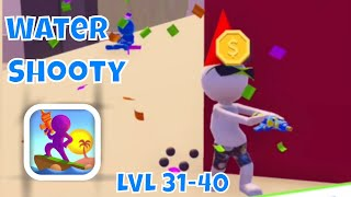 🔫WATER SHOOTY🔫GAMEPLAY☂️LEVELS 31-40 + BOSS by Rollic (iOS)
