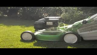 видео стрижка газона