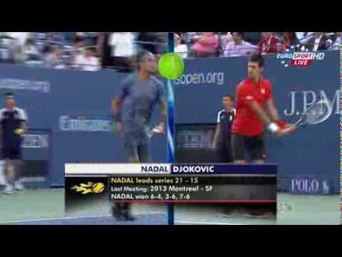 Джокович-Надаль. Финал US Open 2013