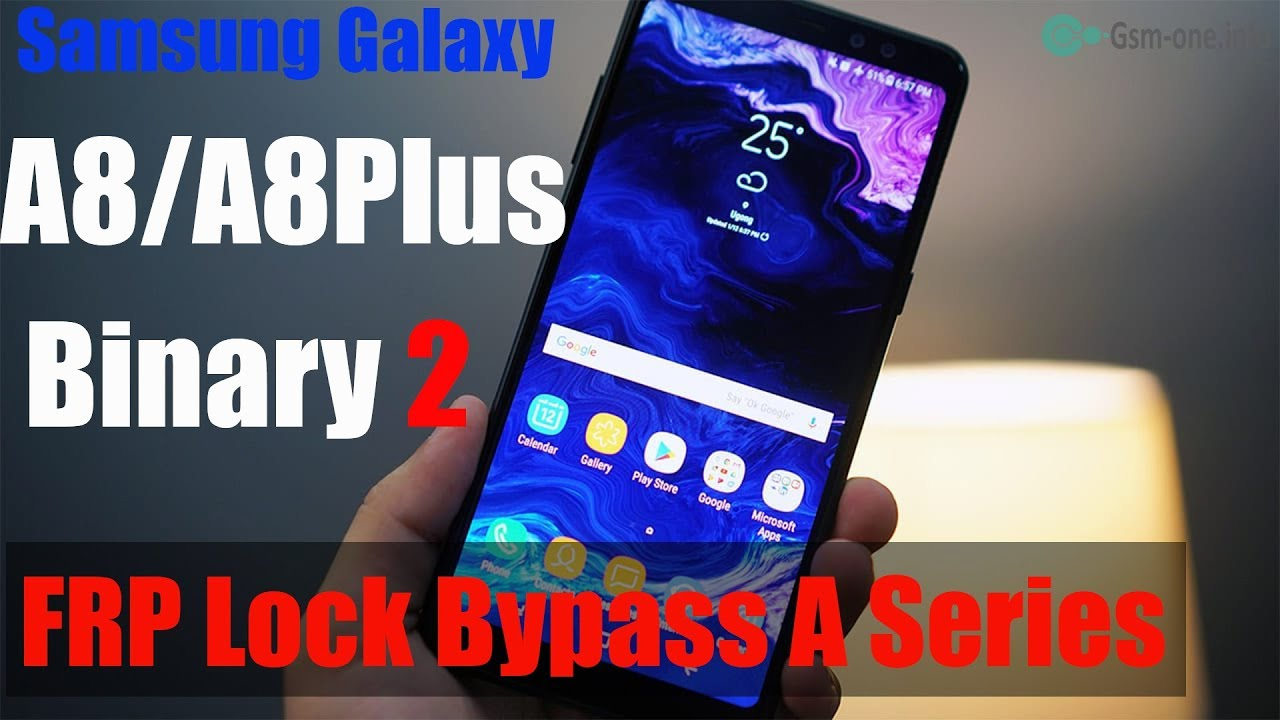 Samsung Galaxy A8 And A8+ FRP Lock Remove Bypass Google Account