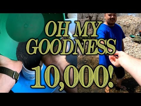 Prospecting At Arapahoe Bar Gold Panning Area, Colorado - 10,000 Subscriber Gold Paydirt Giveaway?!