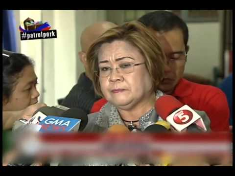 De Lima: 3rd batch of pork barrel 'scam' cases ready