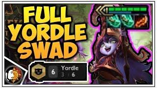 FULL YORDLE SWAD - Teamfight Tactics