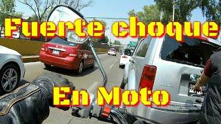 Rodando y Ayudando 3 / accidente en moto churubusco / hermandad biker