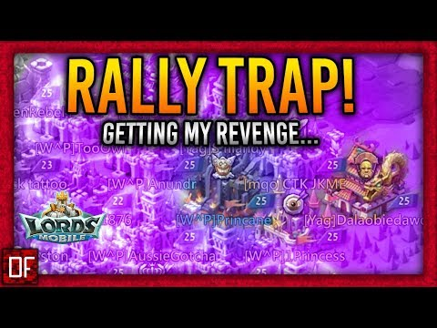 Rally Trap Eats Rally W/ Troop Composition!  - Lords Mobile