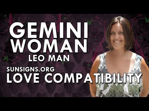 Leo man gemini woman 2016