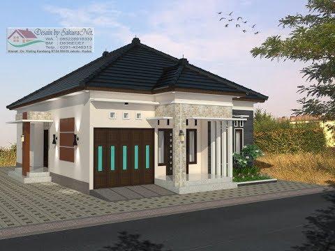 Modern House (9x13) 3 K. Tidur. Desain Rumah Minimalis Lantai 1