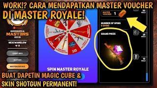 CARA MENDAPATKAN MASTER VOUCHER DI MASTER ROYALE | Free Fire Battleground