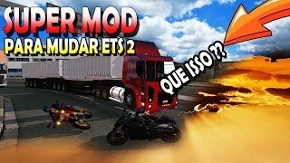 SUPER MOD  QUALIFICADO  COM SOM DE MOTOR LINDO ( Euro Truck 2- 1.35)