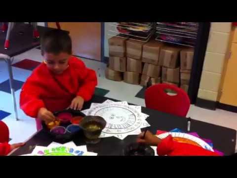 Strong Rock Christian School- Art Quest Mexican Sun k & PK