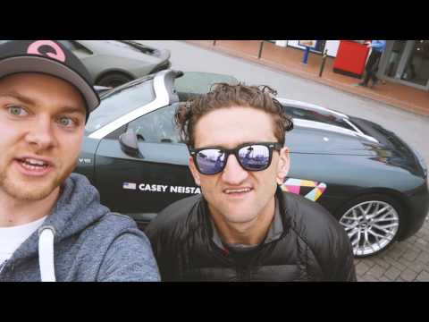 Thumbnail: WITH CASEY NEISTAT IN HIS AUDI R8