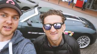 WITH CASEY NEISTAT IN HIS AUDI R8