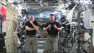 NASA Astronauts Discuss Life in Space