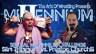 """Mr.Fitness"" Slim Trimmons vs  ""British Brawler"" Preston Churchill (Millennium II)"