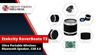 Eteckcity Rover Beats T3 Ultra Portable Wireless Bluetooth Speaker Product Review  – NTR