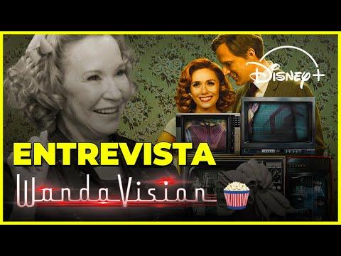 Atriz revela detalhes e SEGREDOS de WandaVision!