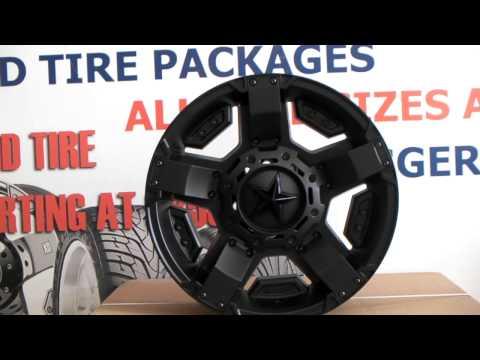 DUBSandTIRES.com XD Series XD-811 Rockstar 2 Black Wheels Truck Offroad Rims Miami
