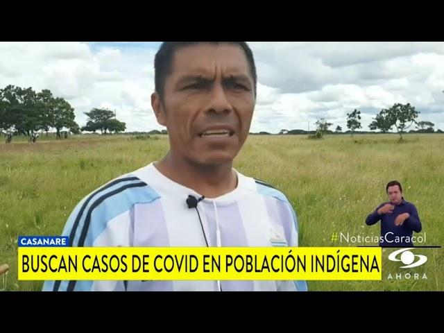 EN CASANARE, SE ATIENDEN LOS CASOS DE COVID PRESENTADOS EN LA POBLACIÓN INDÍGENA